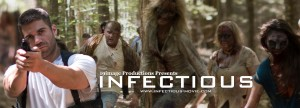 The promotional banner for INFECTIOUS