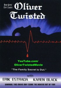 'Oliver Twisted' (2000) Official DVD Cover with YouTube URL Added